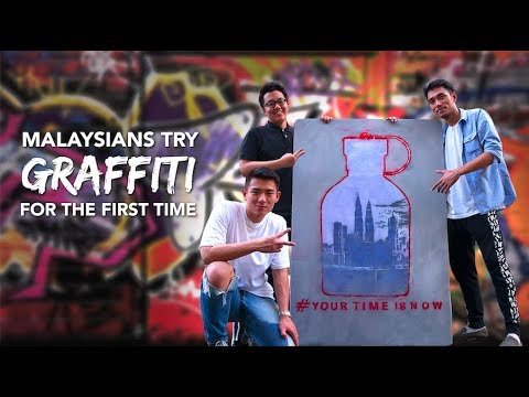 Malaysians Try Graffiti For The First Time | Presented by Hugo Boss Urban Journey