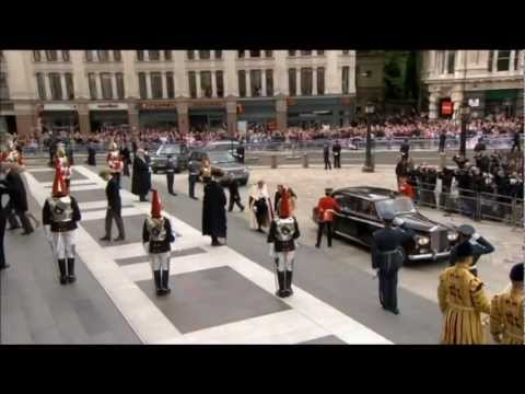 Diamond Jubilee - National Service of Thanksgiving, St Paul