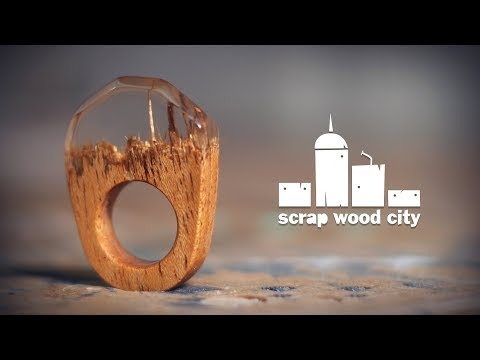 Making an epoxy resin and wood ring
