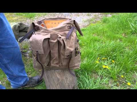 Frost River Isle Royale Bushcraft Jr. Pack Review