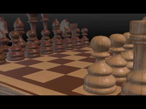 Animated chess video 03 - HD - 1080p