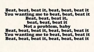 Sean Kingston - Beat It ft. Chris Brown, Wiz Khalifa (Lyrics)