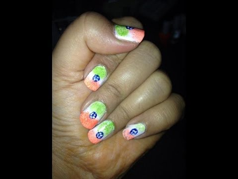 Diy nail art on indian independence day 15th august tricolor diy nail art on indian independence day 15th august tricolor inspired by indian national flag prinsesfo Image collections