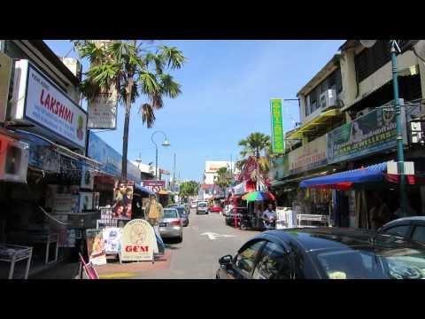Indian neighborhood in Georgetown, Penang, Malaysia