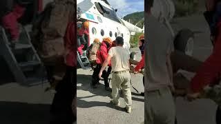 Спасение российской туристки в горах Заилийского Алатау попало на видео
