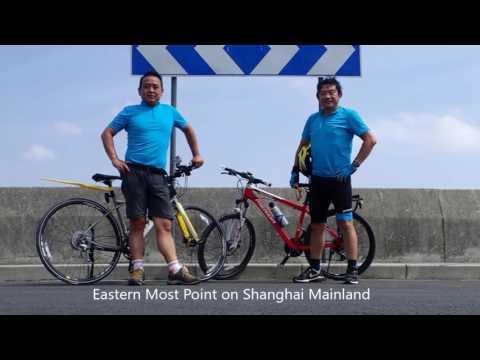 Shanghai Bike Ride w/ Sports Cam 20160924 - 135km to Dishui Lake