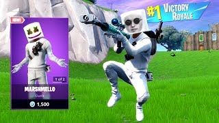 Getting A WIN With The *NEW* MARSHMELLO SKIN! (LIVE)
