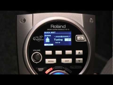 Roland Users Group TV - V-Drums® V-Tour® Series TD-15KV (Redux)
