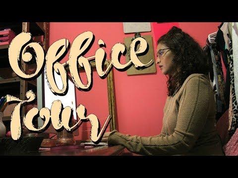 Mi Oficina renovada - Office TOUR | Zaha Cassis