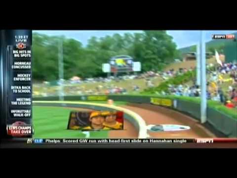 2011 Little League World Series Champions On SportsCenter