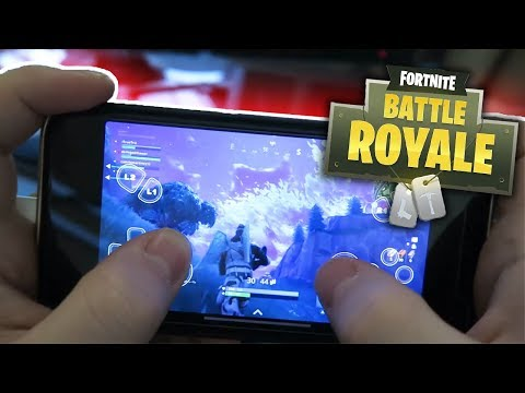 FORTNITE IS COMING OUT ON MOBILE TOMORROW!? (iOS/Android)