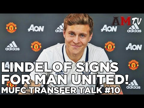 WELCOME TO MAN UNITED, LINDELOF! | MUFC Transfer Talk #10
