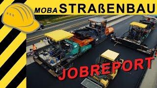 Straßenbau Jobreport A7 - Moba Pave-IR Scan & BPO Asphalt im Einsatz - Bauforum24 TV