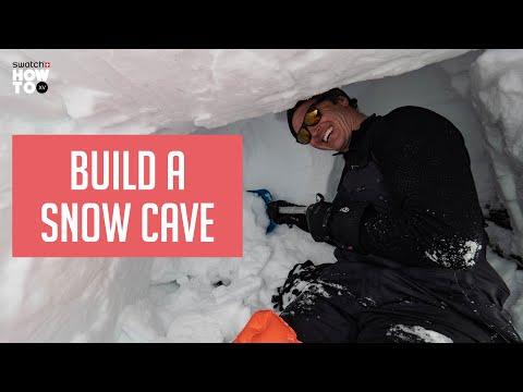 BUILD A SNOW CAVE | HOW TO XV