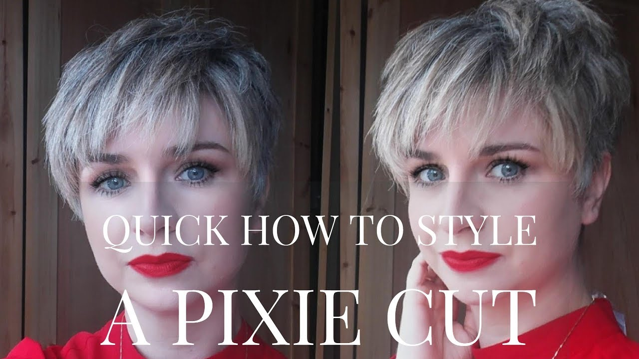 Quick how to blow dry style a pixie cut hairstyle undercuthall quick how to blow dry style a pixie cut hairstyle undercuthall styling winobraniefo Images