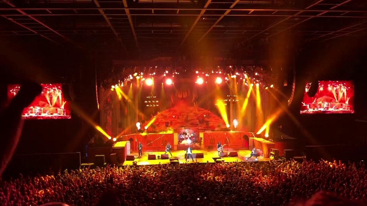 Iron Maiden Genève 2018 - YouTube
