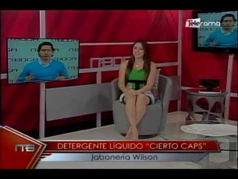 Detergente líquido Cierto Caps Jabonería Wilson