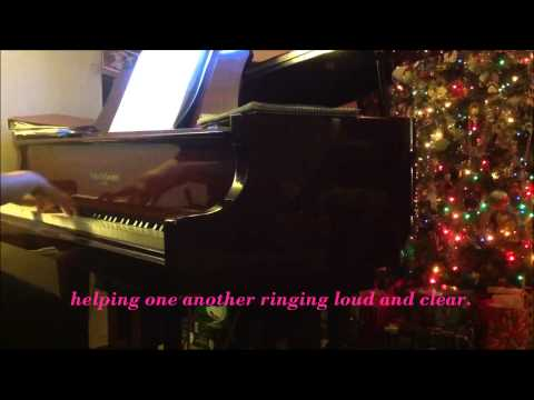 A Christmas to Remember - Piano Solo with lyrics