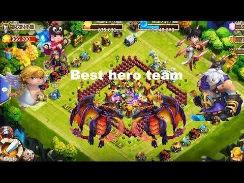 Castle Clash Best Hero Team