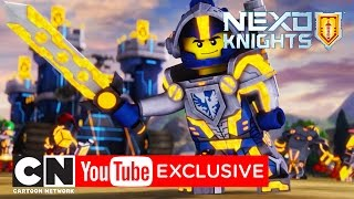 NEXO Knights | Clay: The Most Heroically Heroic Hero Ever | Cartoon Network