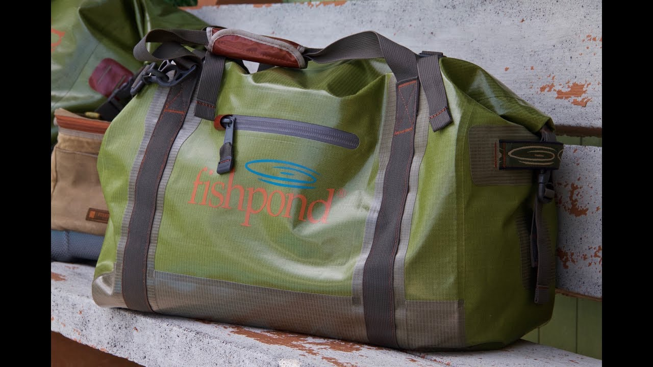a860fb7a31c2 Fishpond's Westwater Roll Top Duffel: HD Video Review