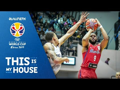 Mexico vs. Puerto Rico - FIBA Basketball World Cup 2019 - American Qualifiers