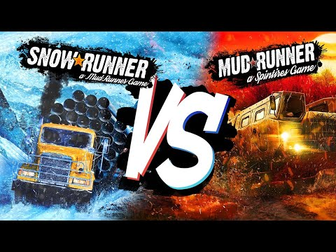 SNOWRUNNER VS MUDRUNNER! ► SNOWRUNNER НЕИДЕАЛЬНА!?