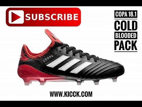 Review adidas Copa 18.1 FG Cold Blooded Pack (Thai Version) - YouTube b729fb8fa