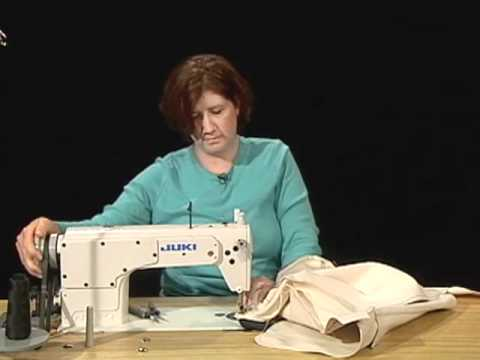 FD 54 - Apparel Manufacturing Lesson 2 - Shoulder Bag - Part 2