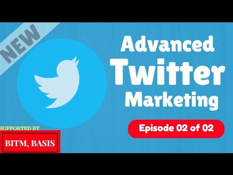 Advanced Twitter Marketing Tutorial 2017 [Part 02 of 02] | How To Use IFTTT: How To Automate Tweet