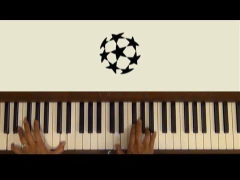 UEFA Champions League Anthem Piano Cover with Separate Tutorial