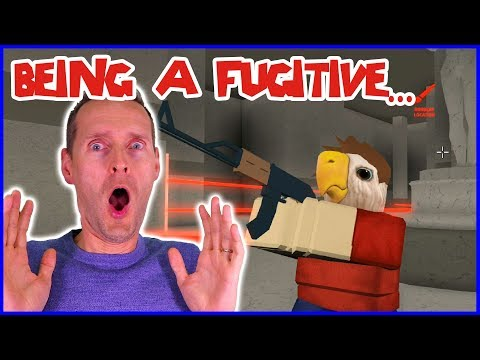 Being a Fugitive in Roblox