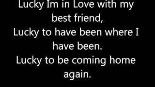 Lucky Jason Mraz and Colbie Caillat Lyrics