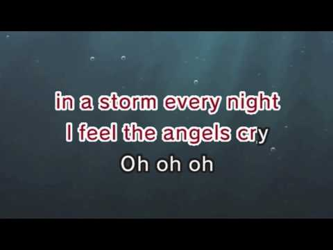 Angel Cry Karaoke and Lyric Version