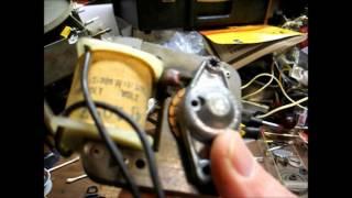 Repair of a 1958 Newcomb model P12C classroom record player