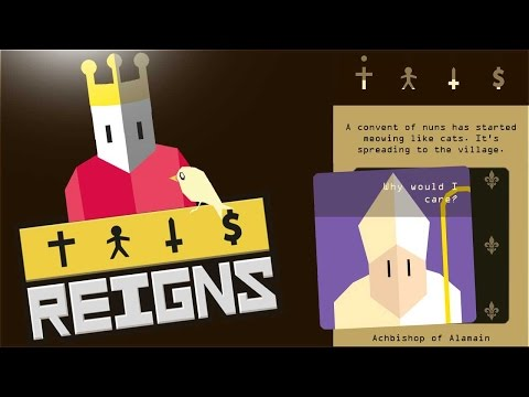 Reigns - The King of Catastrophe (First Impressions Reigns Gameplay PC)
