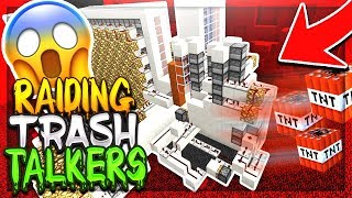 FIRST RAID ON A TRASH TALKING FACTION! (100MIL) | Minecraft Factions | Cosmic Pvp | Monster [3]