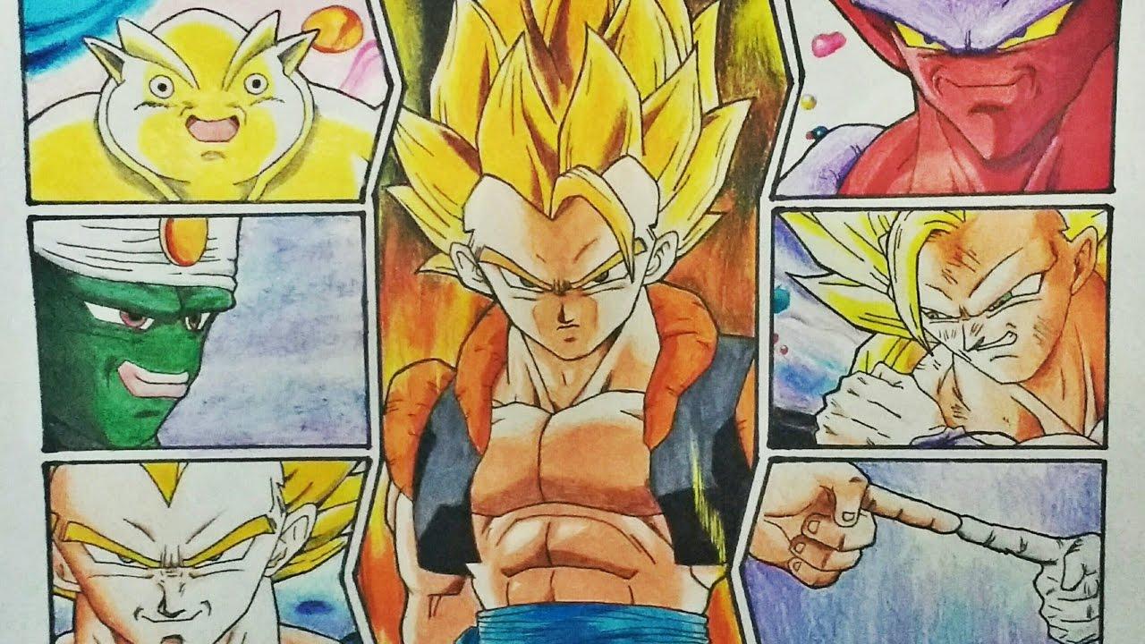 Dragon Ball Z Wallpaper Drawing