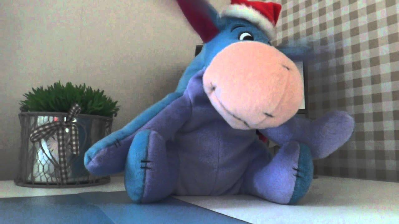 IAah Stofftier Esel aus der beliebten Disney TVSerie Winnie the