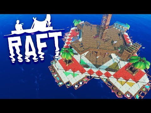 THE ULTIMATE RAFT! Raft Survival Finale (Save Download)