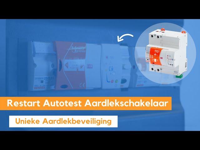 Wat is een Gewiss Restart Autotest Aardlekschakelaar & hoe werkt deze? Easy Aardlekschakelaar Testen