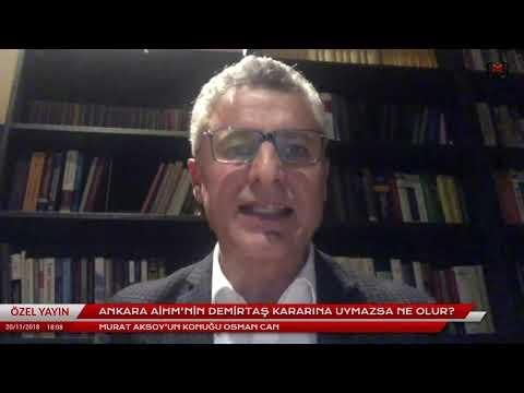 Ankara AİHM'nin Demirtaş kararına uymazsa ne olur? Konuk: Osman Can