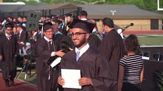 Dearborn public schools. edsel ford high school, june 7, 2018 commencement ceremony. part 3. presentation of the diplomas and confirmation graduates b...