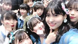 AKB48岩立さっほーさんチームBの谷口めぐちゃんの2019年のゴールデンウ...