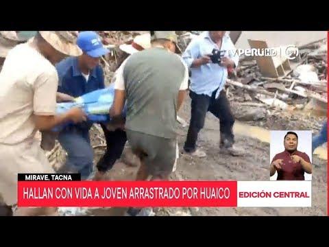 Tacna: dos son las personas fallecidas por el huaico en Mirave