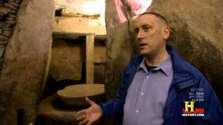 History Channel - Anthony Murphy on the mysteries of Newgrange