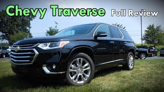 2018 Chevrolet Traverse: Full Review | High Country, Premier, RS, LT & LS