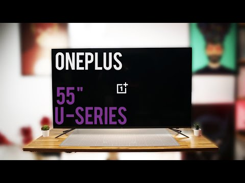 OnePlus 55 Inch U Series 4k TV First Look
