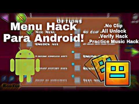 El Mejor Hack De Todo Geometry Dash 2.11!!! 😯 Menu Hack!
