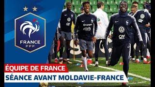 Veille de match a Chisinau pour les Bleus, Equipe de France I FFF 2019